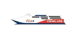 VIKING FASTER will offer up to three return sailings per day between Helsinki and Tallinn. © Viking Line