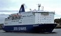 PRINCESS SEAWAYS, seen in the Tyne, and IJmuiden route partner KING SEAWAYS are to receive major internal refurbishment this year. © Russell Plummer