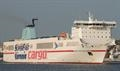 SUPER-FAST BALEARES is replacing EUROCARGO TRIESTE © Frank Lose
