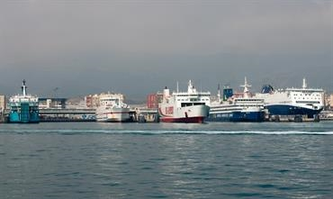 The Spanish port of Algeciras remains the gateway to Morocco for 'OPE' © Frank Lose