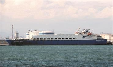 EUROFERRY MALTA will connect Genoa with Porto Torres three times per week © Shippax archive