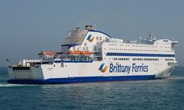 ARMORIQUE is one of five Brittany Ferries vessels involved in the dry runs © Frank Lose