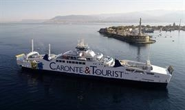 Caronte & Tourist Group latest addition: ELIO © Caronte & Tourist Group