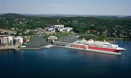 The shape of things to come in Sandefjord? © Fjord Line