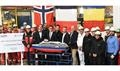First steel cut for Ponant's LE COMMANDANT CHARCOT at VARD Tulcea © Ponant