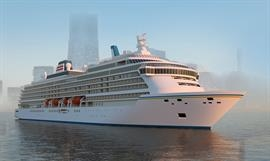 To be delivered in 2025, the newbuilding for NYK Cruises is expected to be named ASUKA III. © Meyer Werft