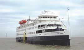 Victory Cruise Lines aquired the ex- SEA DISCOVERER last year, now VICTORY II © Shippax