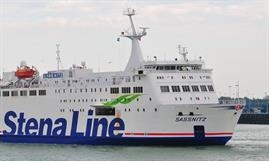 Stena Line pulled the plug on the 'Köngislinie' with SASSNITZ, the route's single ship, laid up in Uddevalla. © Marc Ottini