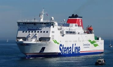 According to the latest information STENA NORDICA will serve the Europoort-Killingholme route until the 22 January introduction of HATCHE. © Sebastian Ziehl