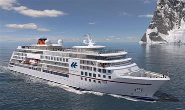 VARD will build a third Hanseatic Class boutique expedition cruise ship for Hapag-Lloyd Cruises © VARD
