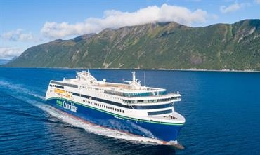 COLOR HYBRID will soon join COLOR VIKING on the Sandefjord-Strömstad route © Color Line
