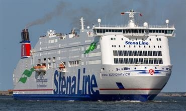 AI will help to further reduce fuel consumption of STENA SCANDINAVICA © Marko Stampehl
