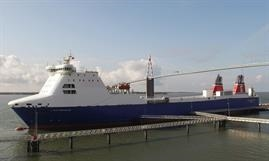 STENA FORECASTER has replaced sister ship STENA FORERUNNER on the Birkenhead (Liverpool)-Belfast route © Stena Line
