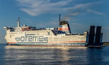State-owned Polferries operates a fleet of five ro-pax ferries, linking Poland with Sweden. © Christian Costa