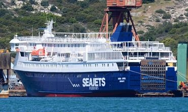 Yet another summer stint in the Azores for AQUA JEWEL © George Koutsoukis