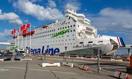 It's over and out for STENA SAGA as Stena Line will permanently stop its Frederikshavn-Oslo route. © Marko Stampehl