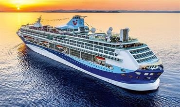 The 1996-built TUI DISCOVERY will become MARELLA DISCOVERY © Thomson Cruises/Marella Cruises