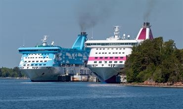 Record carryings for the Tallink and Silja Line ships during the month of July © Marko Stampehl