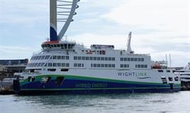 Fiera Infrastructure Inc. has acquired a 50% equity interest in Wightlink from Basalt Infrastructure Partners LLP © Mike Hood