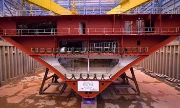 DISNEY WISH keel laying © Disney Cruise Line