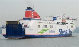 COVID-19 is also affecting the lengthening project of STENA LAGAN and STENA MERSEY. © Frank Lose