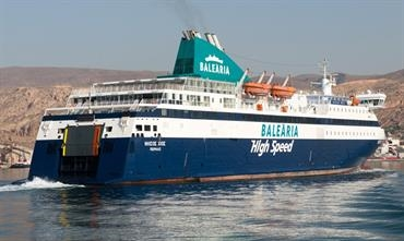 As from mid-September, the NISSOS CHIOS will no longer operate between Almeria and Nador © Frank Lose