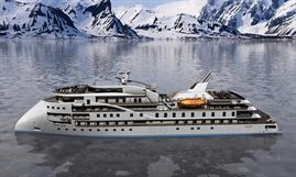 Artist's impression of SunStone's new expedition vessel class  - © SunStone Ships