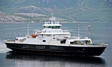 The 2002-built TORGHATTEN will become a hybrid ferry. © Uwe Jakob