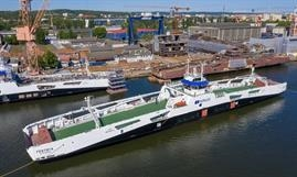 FESTØYA will be introduced on the Festøya-Solavågen route. © Remontowa Shipbuilding
