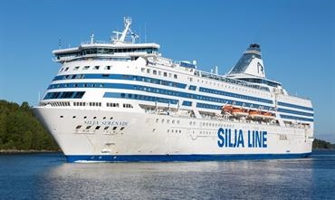 SILJA SERENADE will be cruising to Riga instead of Stockholm when re-entering service on 26 June. © Marko Stampehl