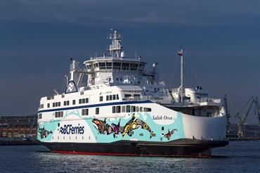 The Salish series has been extended with a fourth ship © Peter Starenczak