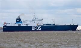 ARK GERMANIA is one of seven DFDS ro-ro freighters that can be made available for military purposes. © Frank Lose