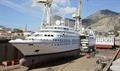STAR BREEZE will re-emerge as an almost brand-new ship following her lengthening © Fincantieri