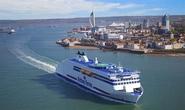 GALICIA and SALAMANCA are the names chosen for the long-term chartered (with purchase option) E-Flexers © Brittany Ferries