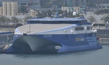 The charter contract for OCEAN FLOWER 2 has been terminated © Yoshiho Ikeda