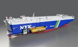 The quartet to be built by Jinling will be very similar to the SAKURA LEADER. © NYK Line