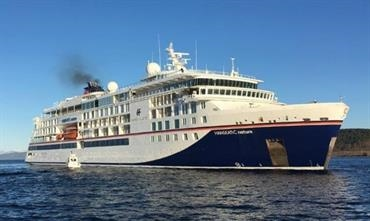 HANSEATIC NATURE was delivered in April this year © Vard