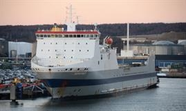 SOMERSET, built in 2000 as SPAARNEBORG, will be withdrawn from CLdN's Zeebrugge-Gothenburg service © Philippe Holthof