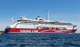 Independent test results show that the rotor sail technology has great potential to deliver savings on VIKING GRACE, manufacturer Norsepower says. © Marko Stampehl