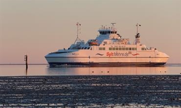 Syltfähre will return to a two-ship operation as from Wednesday 27 May. © Søren Lund Hviid