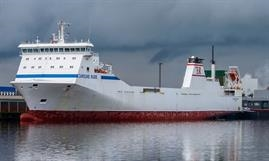 P&O Ferries has chartered CAROLINE RUSS for its new direct Calais-Tilbury freight-only service © Christian Costa