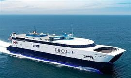 Just like last year, no services will be operated by THE CAT between Bar Harbor and Yarmouth. © Bay Ferries