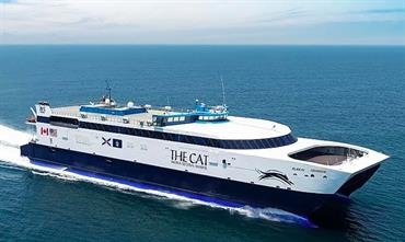 THE CAT will be back in service this summer © Bay Ferries