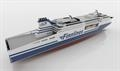 Artist's impression of the Superstar Class with jacuzzis on Deck 12 aft. © Finnlines-Grimaldi Group