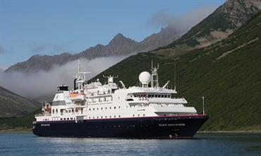 SILVER DISCOVERER will be renamed LA BELLE DES OCEANS and will likely fly the Belgian flag © Silversea Cruises