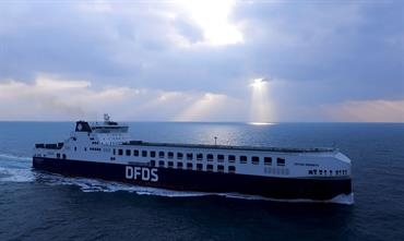 Heading for the Med soon © DFDS