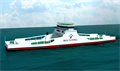 Red Funnel has ordered a dedicated freight ro-ro ferry for the Southampton-East Cowes route © Red Funnel