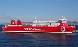Until at least early 2021, there will be more red-painted than blue-painted ferries calling at Corsican ports © Jean-Pierre Fabre