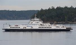 SKEENA QUEEN has a capacity of 441 passengers and 92 Automobile Equivalent © Philippe Holthof
