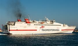 Trasmediterranea will employ ALMUDAINA DOS on the Gandia-Sant Antoni route during Eester © Frank Lose